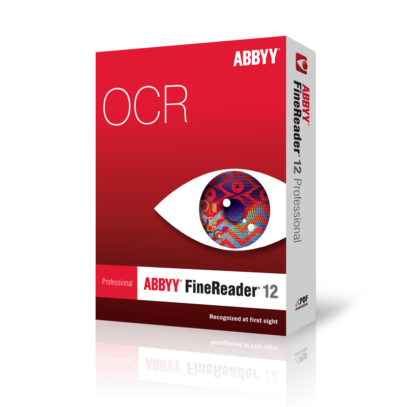 FineReader 12 OCR Optical Character Recognition
