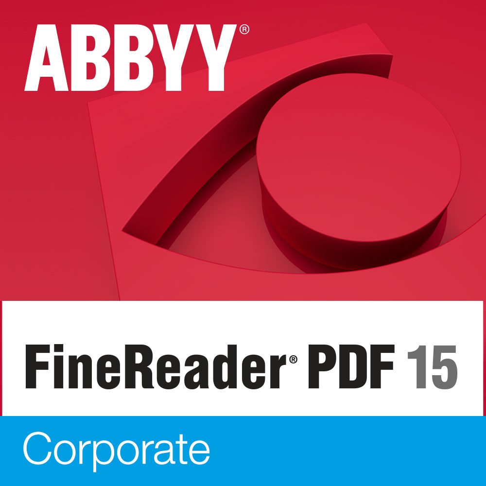 ABBYY FineReader PDF 15 Corporate Edition (Download)