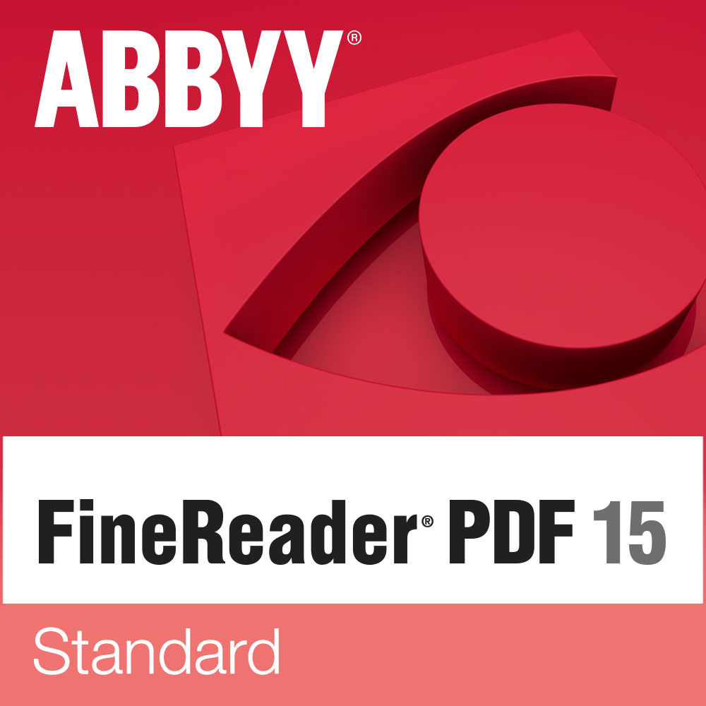 ABBYY FineReader PDF 15 Standard (Download)