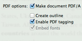 Other essential PDF conversion features