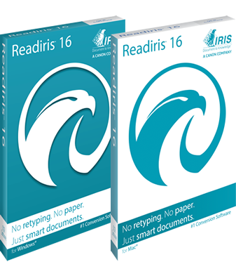 IRIS ReadIRIS Pro 16 (Mac) - Download