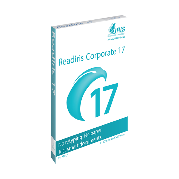 IRIS ReadIRIS Corporate 17 (Mac) - Download
