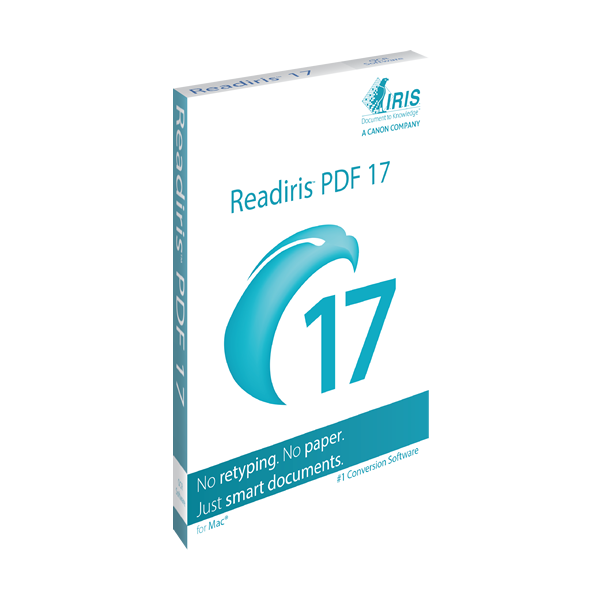 IRIS ReadIRIS PDF 17 (Mac) - Download
