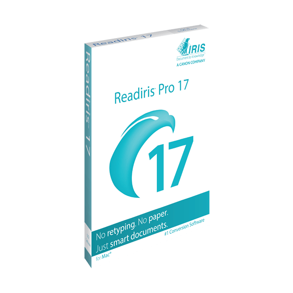 IRIS ReadIRIS Pro 17 (Mac) - Download