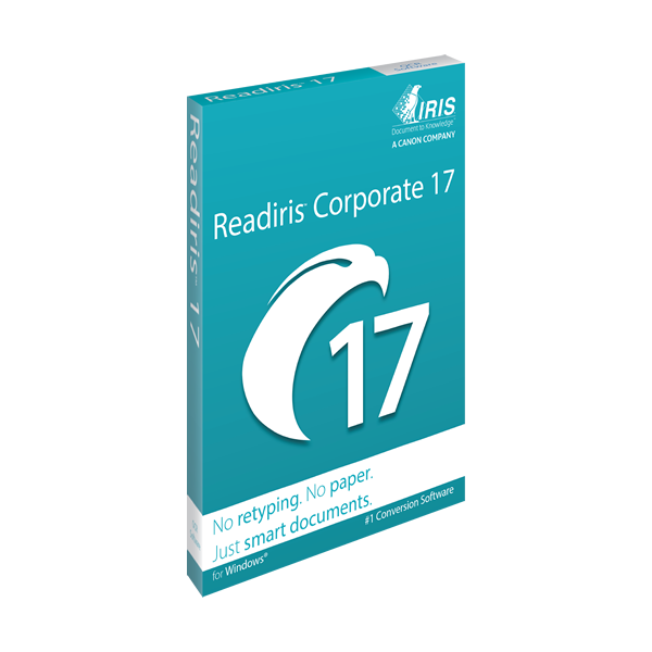 IRIS ReadIRIS Corporate 17 (Windows) - Download