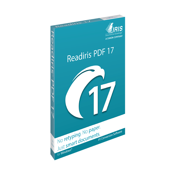IRIS ReadIRIS PDF 17 (Windows) - Download