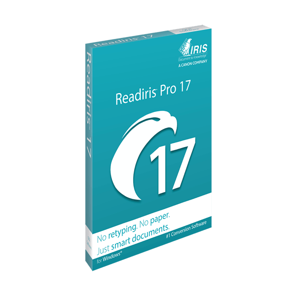 IRIS ReadIRIS Pro 17 (Windows) - Download