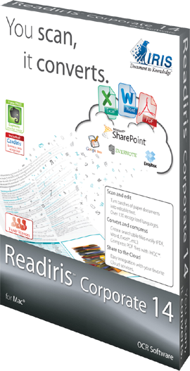 IRIS ReadIRIS Corporate 14 (Mac) - Download