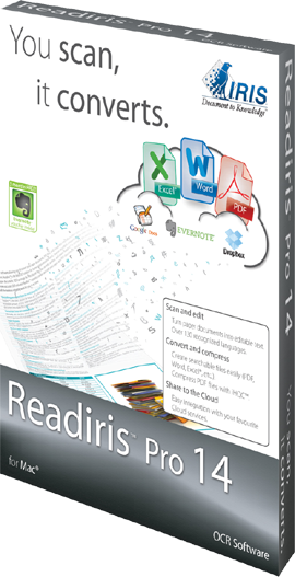 IRIS ReadIRIS Pro 14 (Mac) - Download