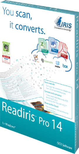 ReadIRIS Convert PDF To Word