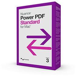 Nuance PowerPDF  - Standard for Mac