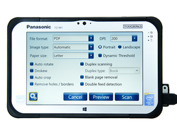Panasonic M100 Network Scanner Solution
