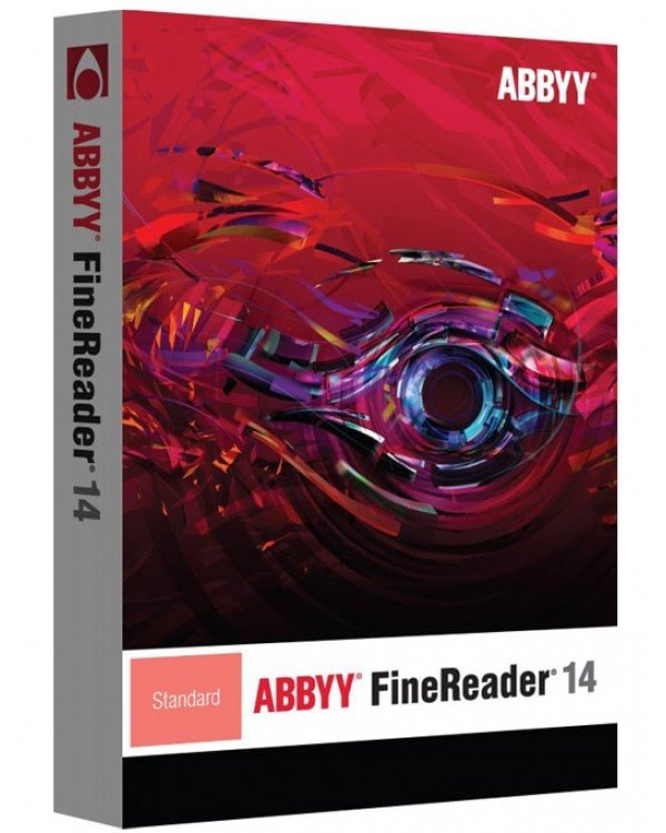 ABBYY FineReader 14 Standard Upgrade (CD)