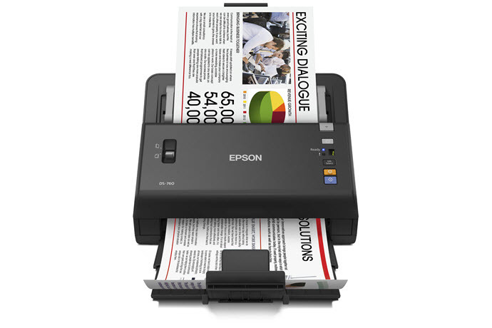 Epson WorkForce DS-760 45ppm Color Duplex 8.5x120