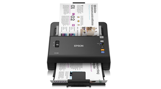 Epson WorkForce DS-860 65ppm Color Duplex 8.5x120