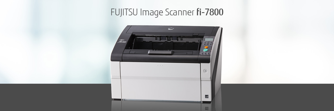 Fujitsu fi-7800 110 ppm Color Duplex 12x220