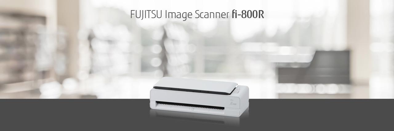 Fujitsu fi-800R 40 ppm Color Duplex 8.5x220