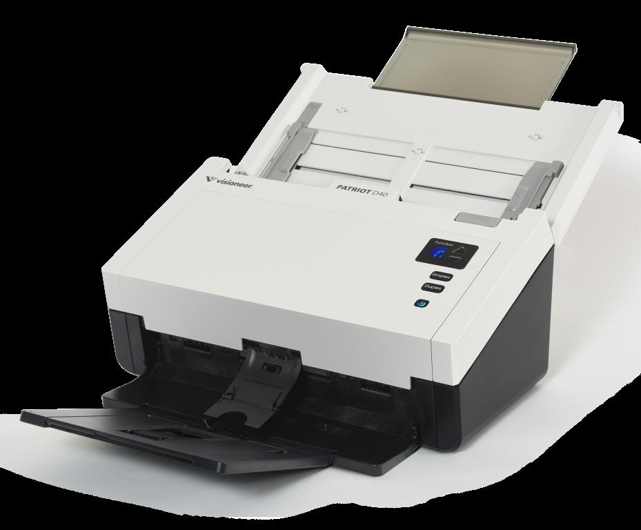 Visioneer/Xerox D40 40 ppm Color Duplex 9.5x118