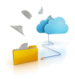 Cloud based web internet Document Archiving